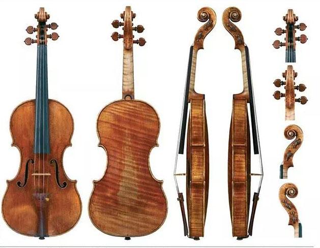 来看看这些古董小提琴拍卖价格