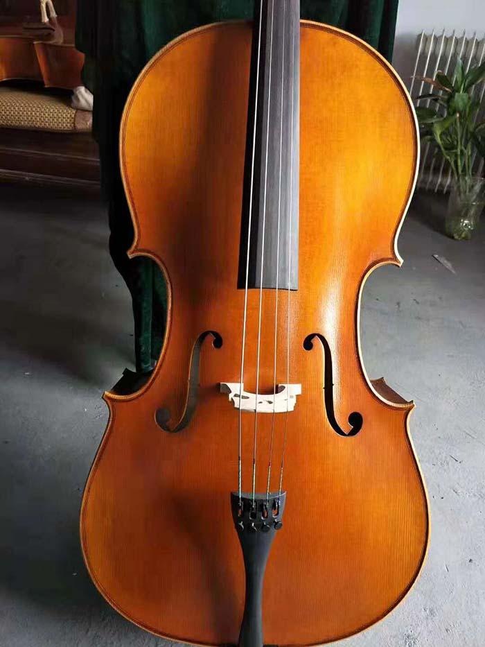 4/4成人手工大提琴