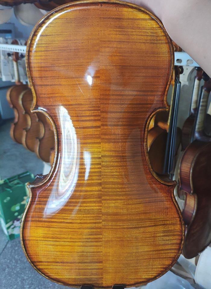 瓜式纯手工小提琴
