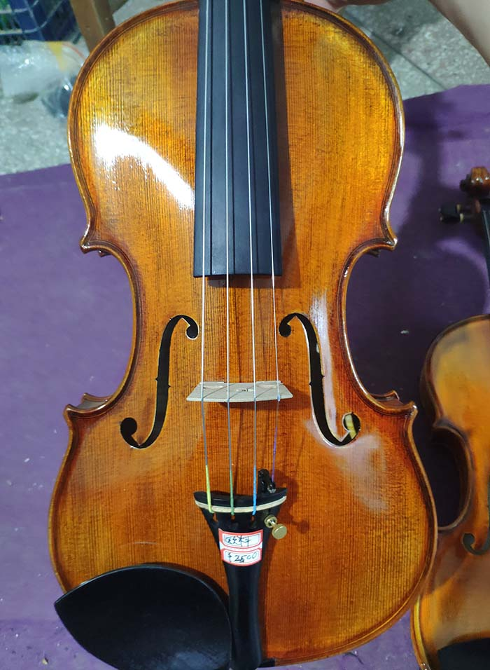 演奏级小提琴面板