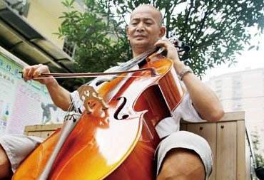 大提琴老人李守杰