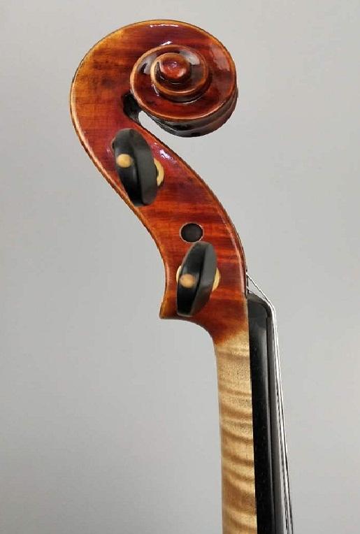 独板虎皮纯手工小提琴