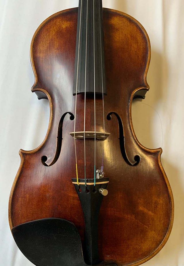 深色古董小提琴德国1919