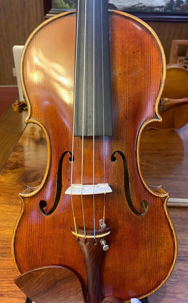 法国老琴二手小提琴