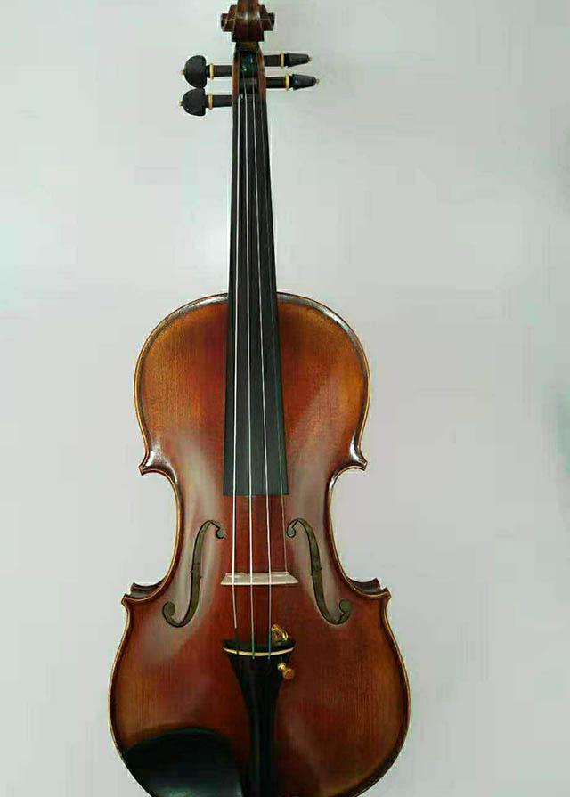 深色复古44小提琴川料