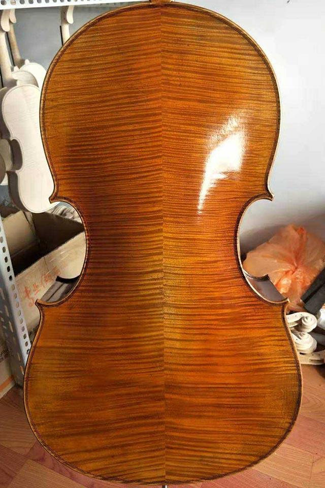 拼板大提琴睡美人琴型