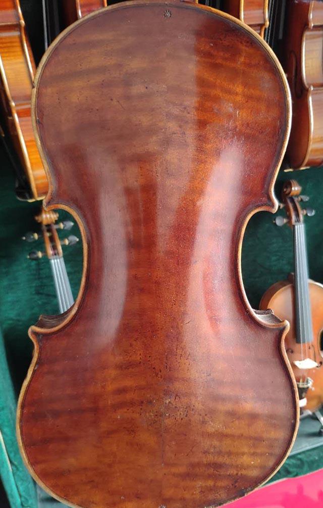 拼板德国小提琴