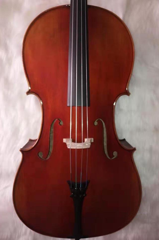 旋切花纹大提琴