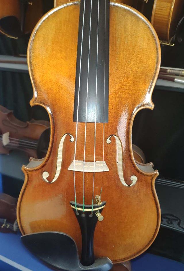 欧料手工小提琴拼板