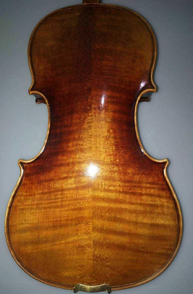 仿旧复古欧料小提琴44