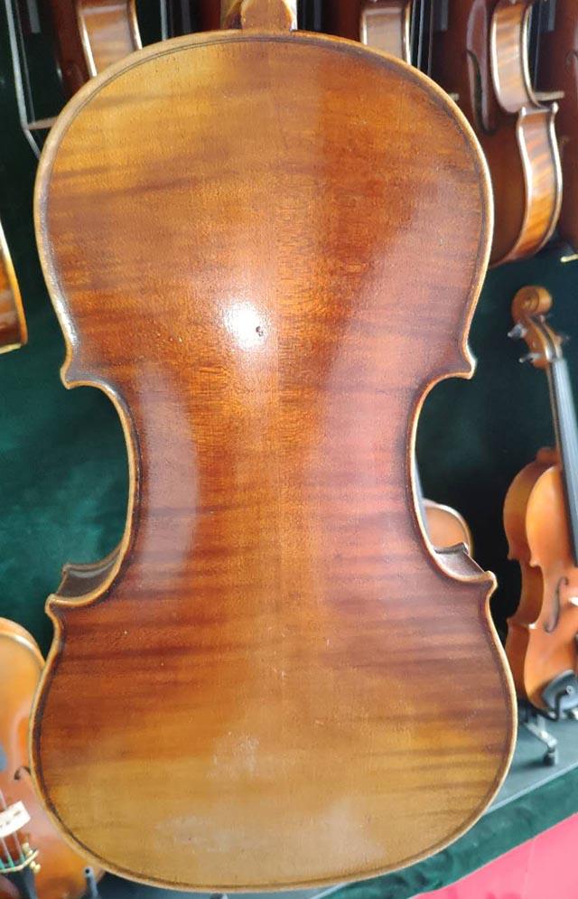 法国古董小提琴拼板