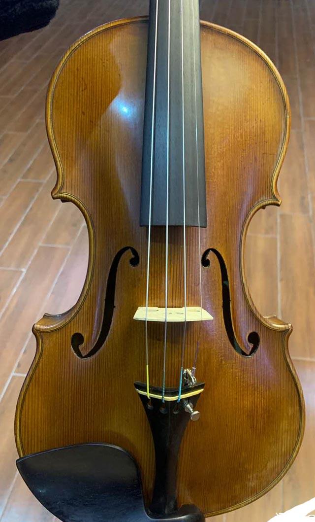 演奏级法国虎皮纹小提琴