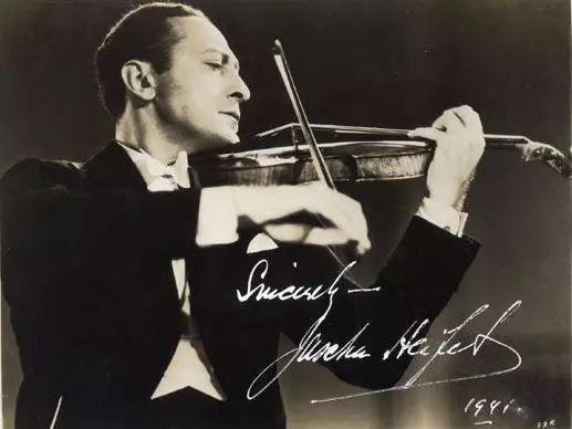 小提琴之王把自己的琴弓给了他