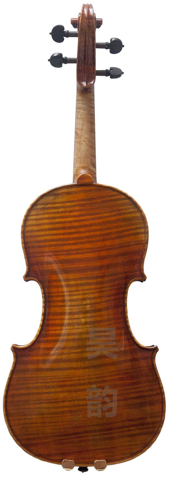高档小提琴独板虎皮纹