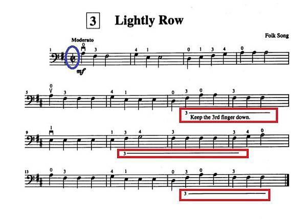 铃木大提琴教学5:Lightly Row(小蜜蜂)