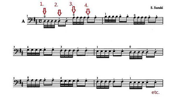 铃木大提琴教学