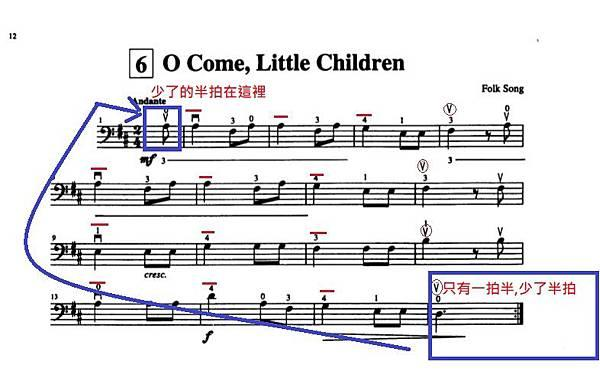 铃木大提琴教程8:O Come,Little Children